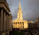 St Martins in the Fields-afternoon sun