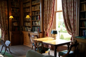 Library Castle Leslie