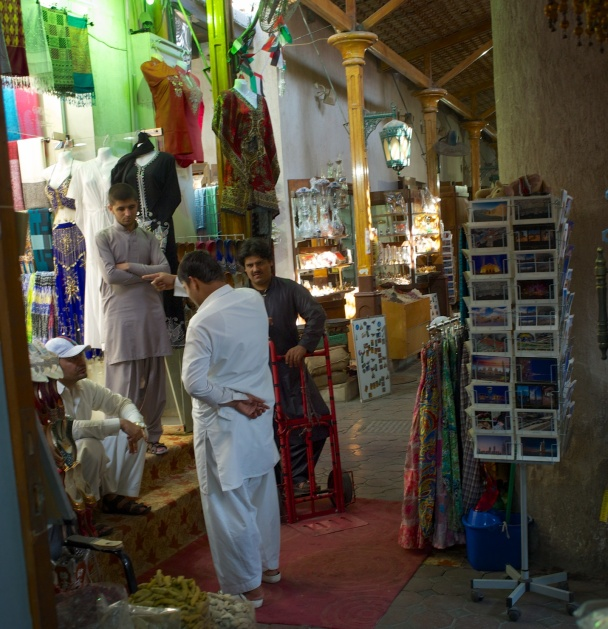 Workers in the Souk, Dubai