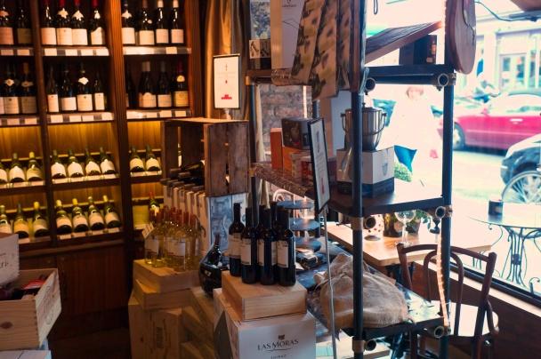 Local wine shop